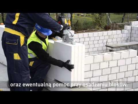 Szybkie murowanie ścian z bloków SILKA TEMPO