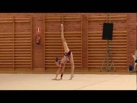 Regional Gimnasia Rítmica Absoluto y Equipos Murcia 2012 Andrea Barba Mazas