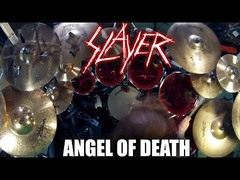 """Slayer - """"Angel of Death"""" - DRUMS thumbnail"""
