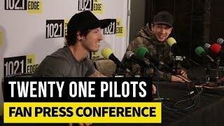Twenty One Pilots Fan Press Conference - Toronto