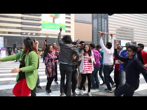 ICC World T20 2014 Flash Mob from Seoul, South Korea