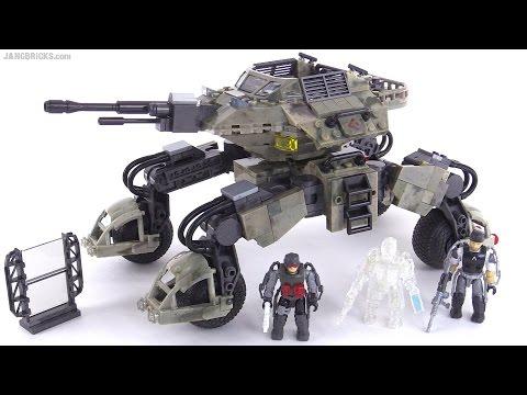Mega Bloks Call of Duty Advanced Warfare Atlas Mobile Turret review