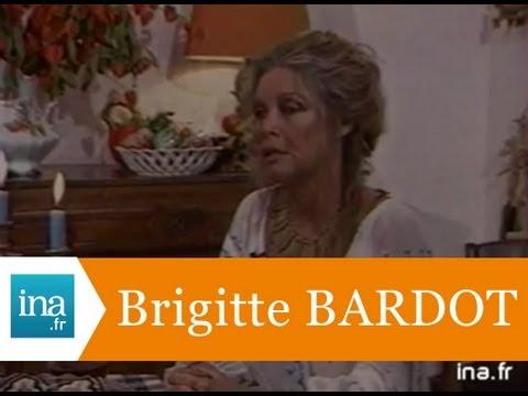 Brigitte Bardot a 50 ans - Archive vidéo INA