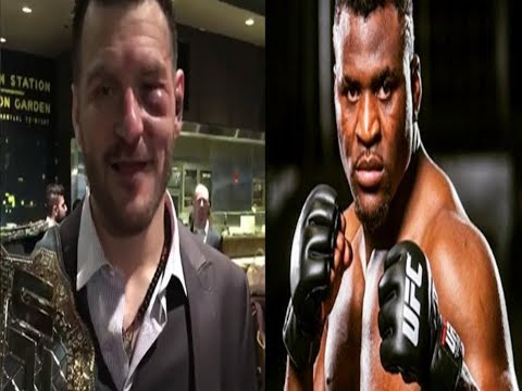 Francis Ngannou's Coach Fires Back at Joe Rogan and Other Critics 'Why Coulnd't Stipe Finish Francis