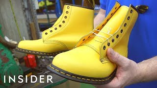 How Dr. Martens' Are Made
