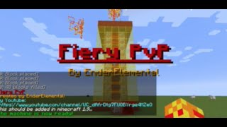 Minecraft One Command | Fiery PvP | EnderElement