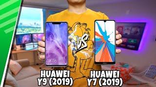 Huawei Y9 (2019) VS Huawei Y7 (2019) | Enfrentamiento | Top Pulso