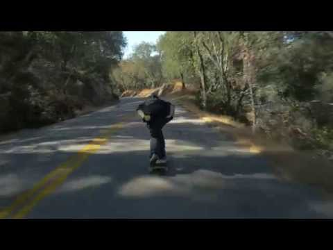 Panasonic GH4 - Downhill Skateboarding Test