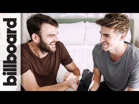 The Chainsmokers Prank Call Charlie Puth & Daya | Billboard Cover Shoot