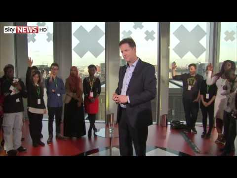 Full Q&A With Lib Dem Leader Nick Clegg #AskTheLeaders