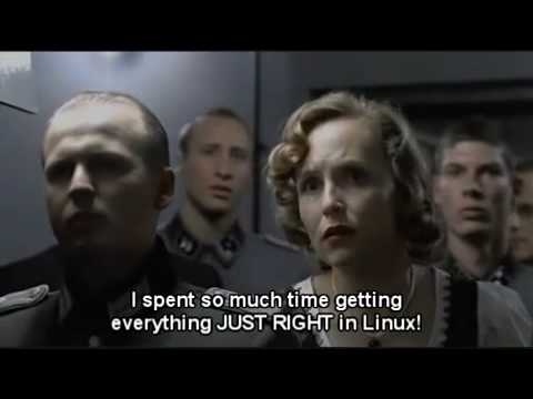Hitler learns about the PS3 3.21 Firmware Update