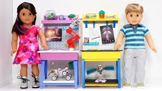 DIY American Girl Doll Workbench
