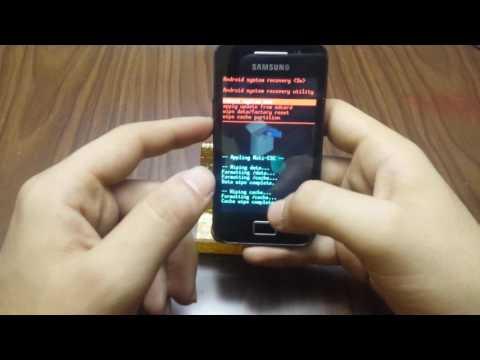 Samsung Galaxy Ace GT-S5830 hard reset