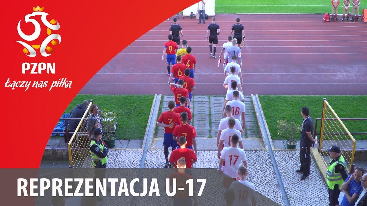 U 17: Skrót meczu Hiszpania - Polska