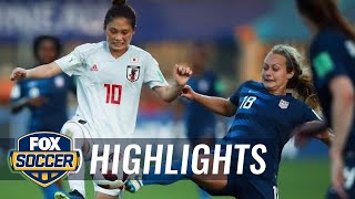 U-20 USWNT falls to Japan in their World Cup opener | 2018 FIFA U-20 Women's World Cup™ Highlights