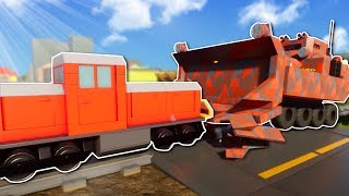 MILITARY TRIES STOPPING THE TRAIN? - Brick Rigs Multiplayer Gameplay - Lego Military Roleplay