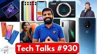 Tech Talks #930 - OnePlus 7T Unboxing, Redmi 8A, Mi Airdots Pro 2, Uber Insurance, Galaxy Fold