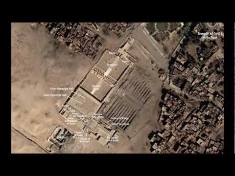 The Great Temple of Abydos and the Osireion (Clint Mansell, the Tree of Life)