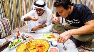 The Ultimate DUBAI FOOD TOUR - Street Food and Emirati Cuisine in Dubai, UAE!