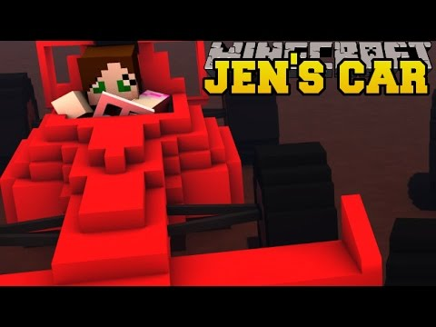 Minecraft: JEN WINS A BRAND NEW CAR!