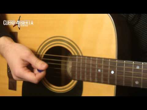 Como tocar Help - The Beatles - Leccion de guitarra para principiantes
