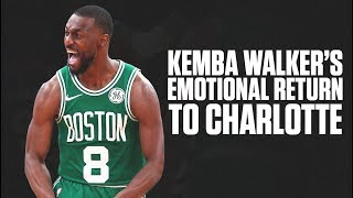 Kemba Walker's Attitude Made Him A Star In Charlotte | First Return Since Leaving To Boston