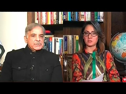 G for Gharida Farooqi 28 January 2016 | Shehbaz Sharif