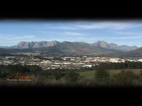 Stellenbosch Cape Winelands South Africa - Visit Africa Travel Channel