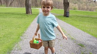 CLARK SAW THE EASTER BUNNY! | Easter 2019