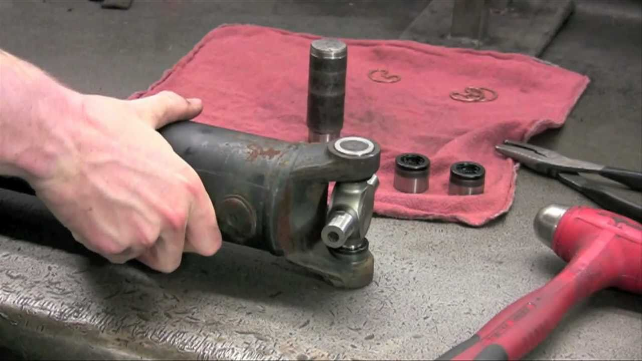 Pti How To Replace A Universal Joint Youtube
