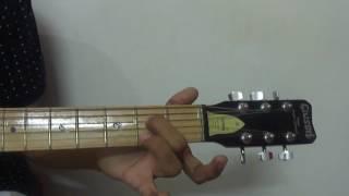 Guitar Lesson - 1 [Hindi] [Sargam - sa re ga ma pa dha ni sa]