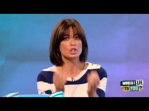 Did Claudia Winkleman feed her goldfish nail polish remover? - Would I Lie to You? [HD]