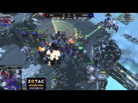 MMA vs. Bly (Bo3) - ZOTAC Season Finals - StarCraft 2