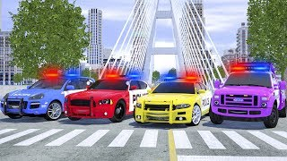 Meet New Police Cars Sergeant Lucas - Wheel City Heroes (WCH) - Fire Truck Cartoon for Kids