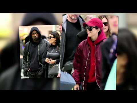 Kanye West and Kim Kardashian Go to Iceland to Celebrate Kourtney's Birthday