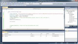 PART 2 - Connect to MySQL Database - Use Select, Insert, Update - C# C Sharp Visual Studio 2010