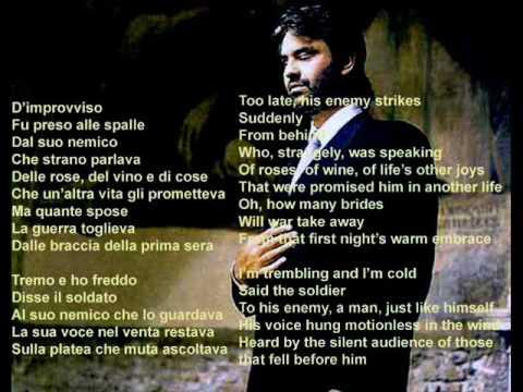 Andrea Bocelli - Non T