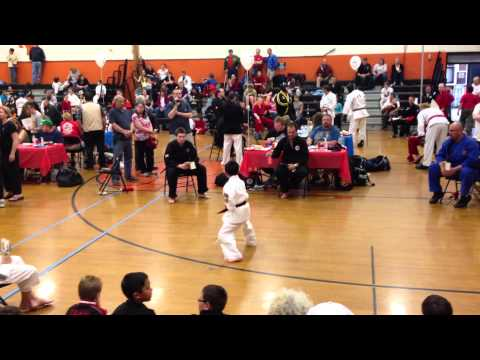 05/18/13 IPPONE: Kick USA National Championship Karate Tournament - 9-11 Advance Kata (Gankaku)