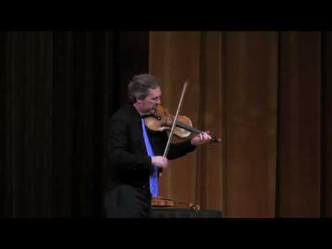 Free Improvisation - Mark O'Connor in Recital at Cleveland Music Institute 2010