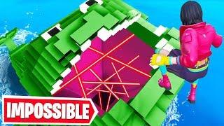DEFAULT Rainbow DROPPER! (Fortnite Creative Mode)