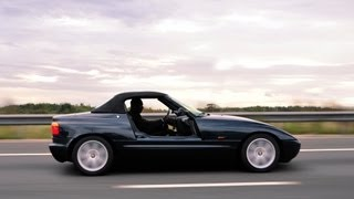 BMW Z1 awesome doors in action on the move