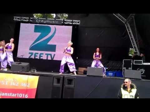 Desi Dance By White Girls At Slough Mela... Part 3 video