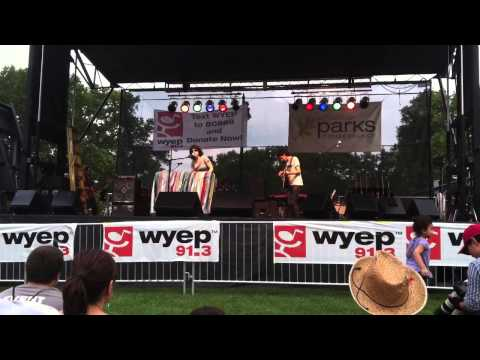 """Happy Pop"" - Elizabeth & the Catapult - WYEP Summer Music Festival, Pittsburgh, PA 6/28/2014"