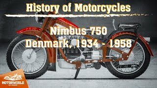 "Nimbus 750 (Denmark) Trial by ""The Motorworld by V.Sheyanov"" (Russia)"