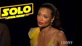 Thandie Newton Compares Tupac and Donald Glover at Solo A Star Wars Story