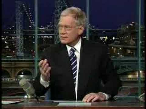 Letterman: Barack gives the Top Ten