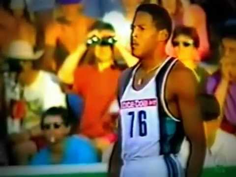 Javier Sotomayor - Record Mundo salto altura - High Jump World Record - WR - 2.45 m