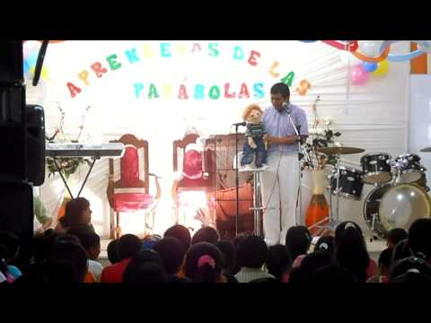 ventrilocuo dr percy y angelito STA ROSA