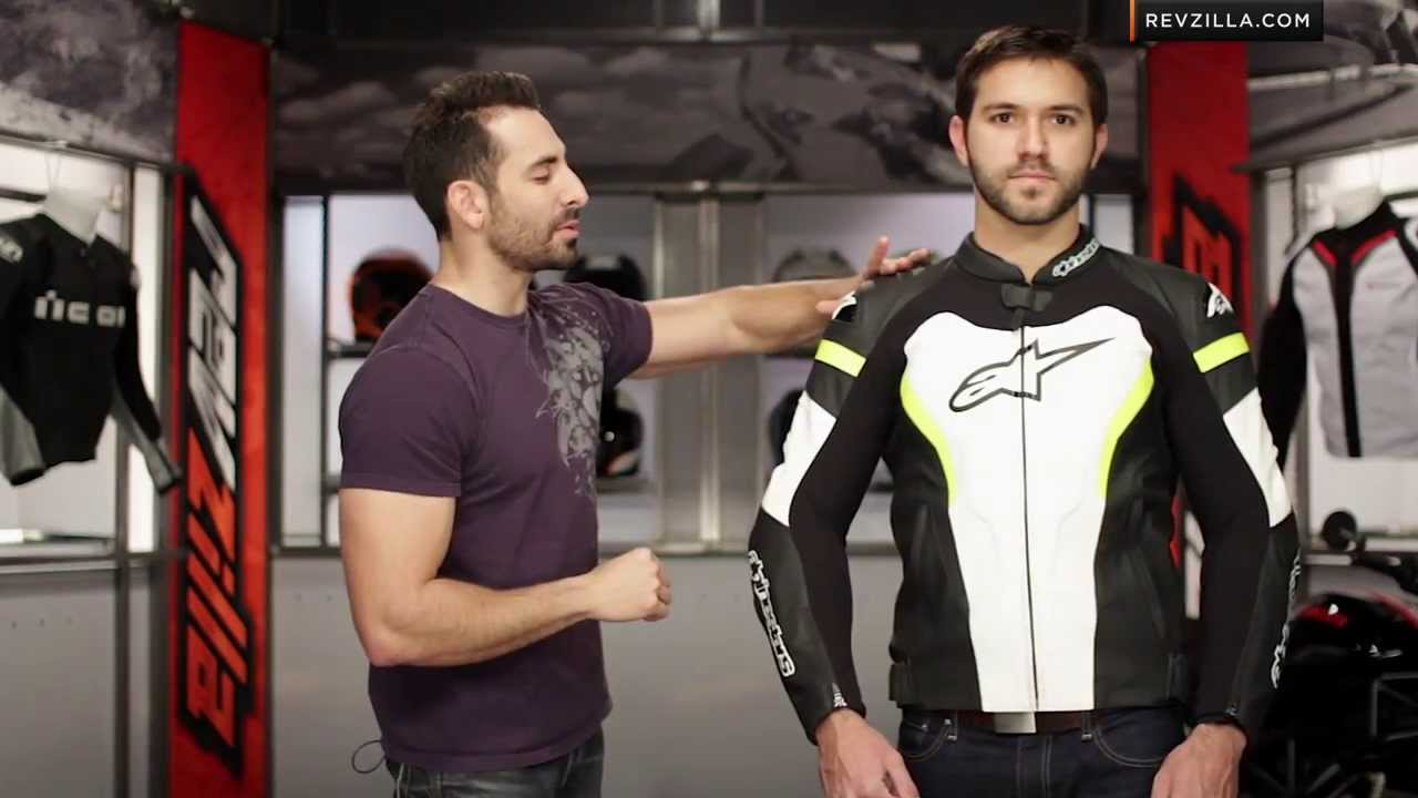 Alpinestars Jacket Leather >> Alpinestars GP Pro Leather Jacket Review at RevZilla.com - YouTube