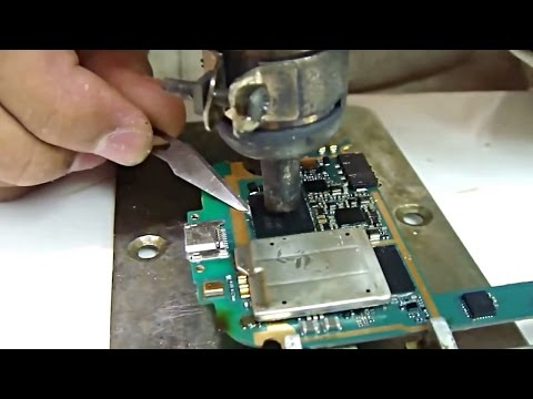 Samsung Galaxy S3 dead repair by changing EMMC [HD]